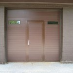 Clopay Insulated door with Pass Door