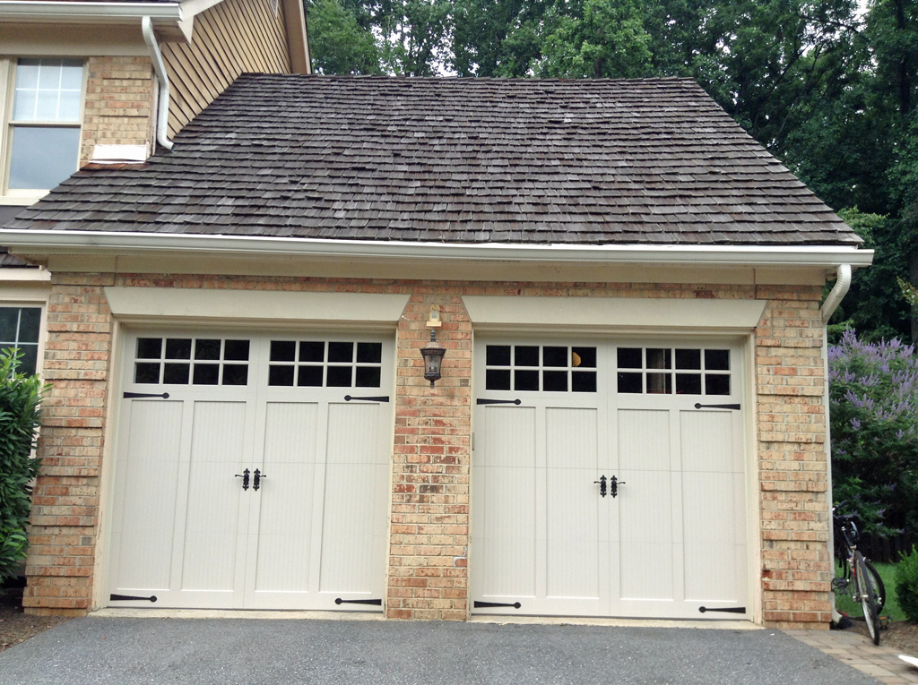 Carriage Garage Doors : Carriage doors custom overlay mount garage