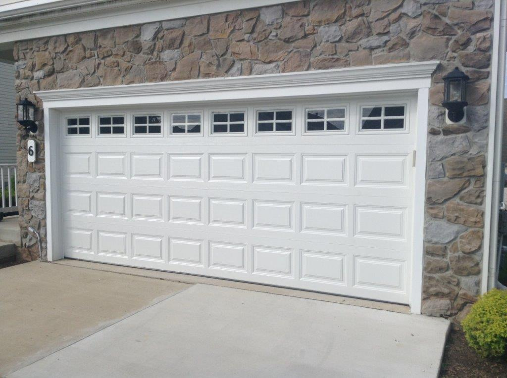 Residential mount garage doors westminster maryland for 16x7 garage door with windows