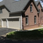 Custom paint CHI solid 2250 non-insulated door