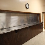 Gamber Fire Hall Stainless Steel Counter Shutter