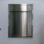 Intergal Frame Stainless Steel Shutter
