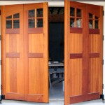 Swing out carriage doors