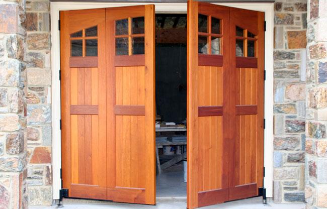 Swing out carriage doors & Carriage Doors - Wood - Mount Garage Doors - Westminster Maryland