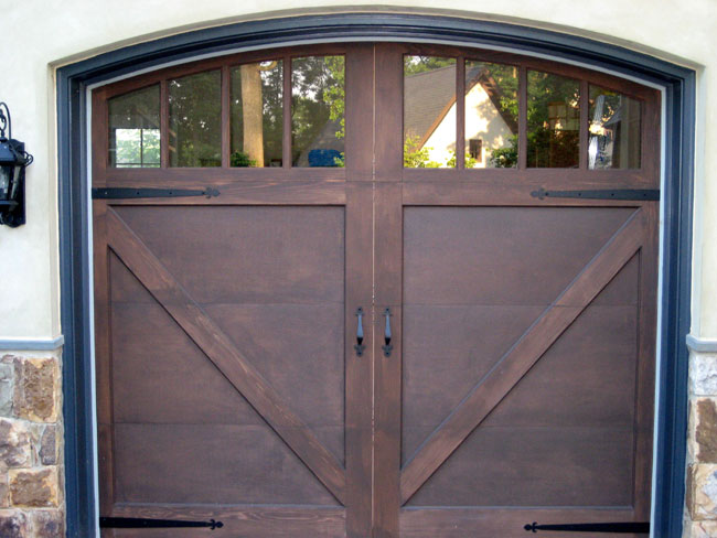 Carriage Doors Wood Mount Garage Doors Westminster