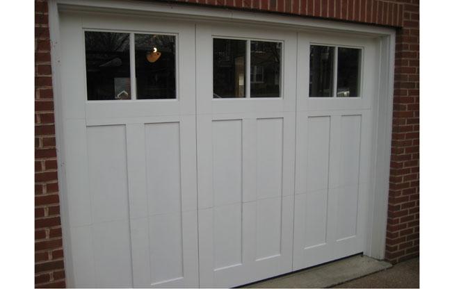 Carriage Doors Wood Mount Garage Doors Westminster