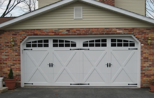Carriage doors custom overlay mount garage doors for 16 x 21 garage door panels
