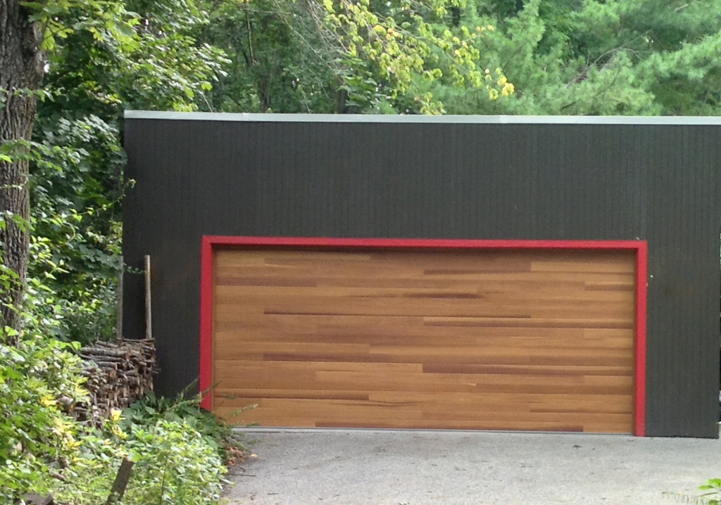 John Was Thrilled To Install Our First Plank Garage Door From CHI. This Is  A Model 3216 In Cedar.