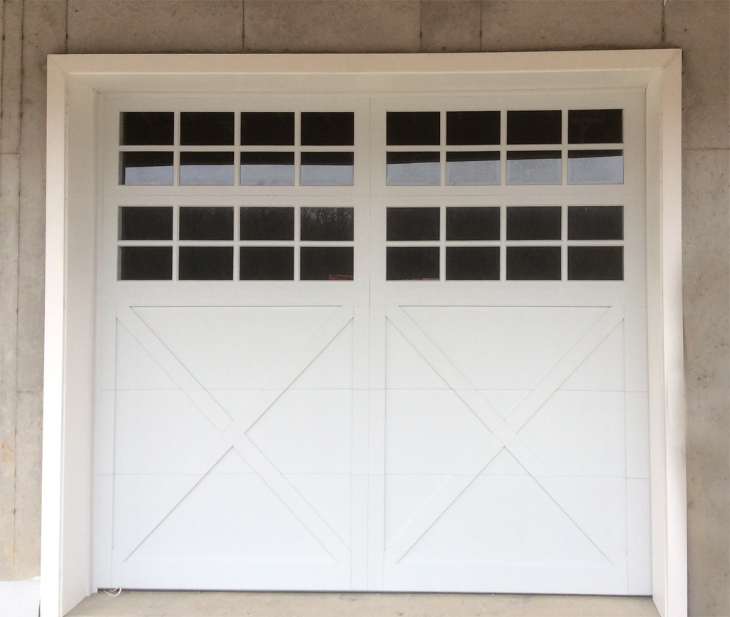 Carriage doors custom overlay mount garage doors for 2 door garage door