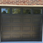 Black Clopay 4050 with glass