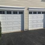 Short panel door with Stockton inserts