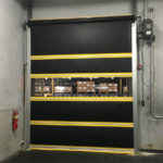 Vinyl roll up door